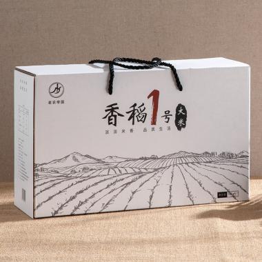 老农帝国 黑龙江香稻1号大米礼盒装10斤