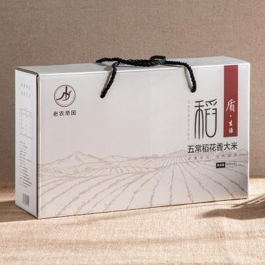 老农帝国 五常稻花香大米礼盒装10斤