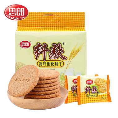 思朗纤麸高纤消化饼干380g
