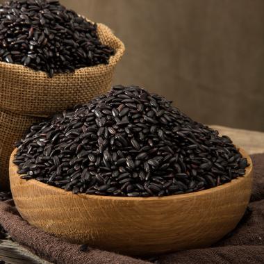老农帝国 东北黑香米5斤 新米五谷杂粮黑大米