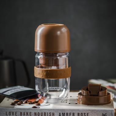 胖虎便携家用研磨一体手冲咖啡机旅行电动小型迷你全自动豆豆杯