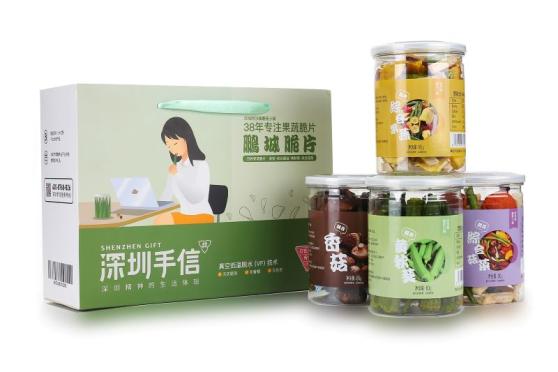 深圳手信鹏城脆片38年专注果蔬脆片335g