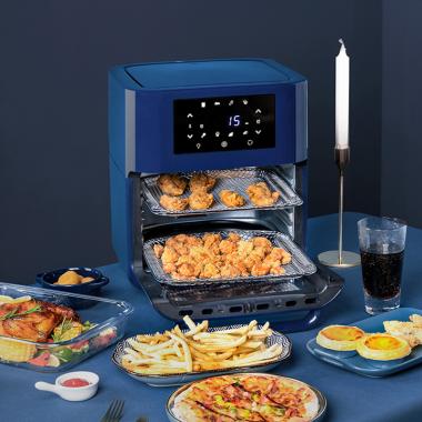 KOOZY空气炸锅家用12升大容量无油智能电烤箱多功能烘焙炸锅新款