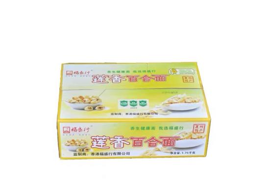 福盛行莲香百合面健康养生非油炸面条营养面食1750G